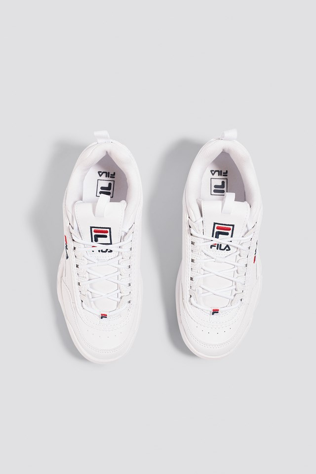 Disruptor Low Wmn Sneaker White