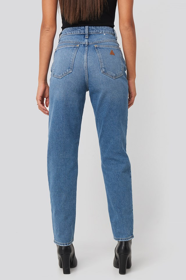 A 94 High Slim Jeans Josephine Blue