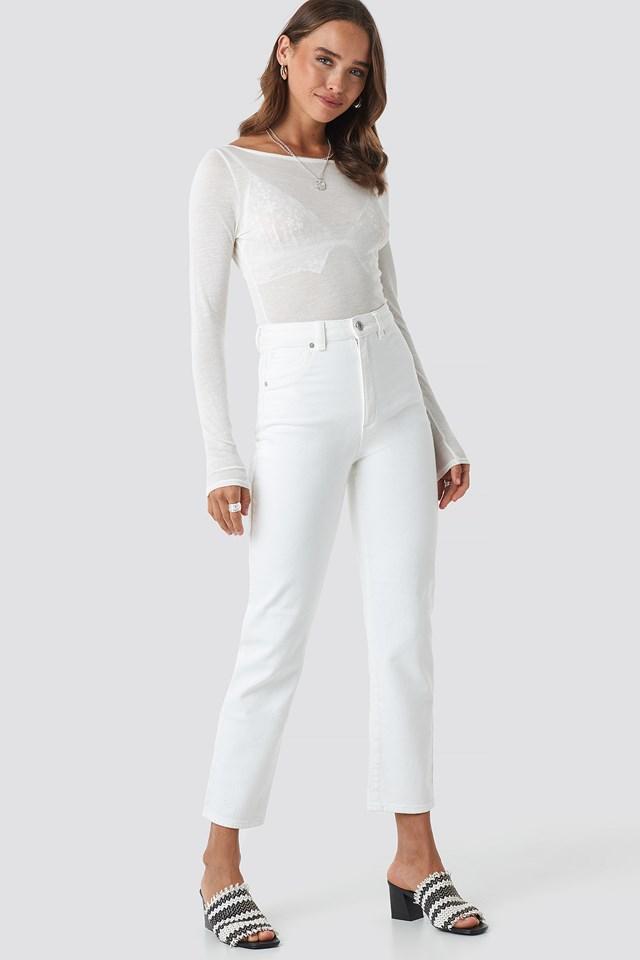 A 94 High Slim Jeans Zinc
