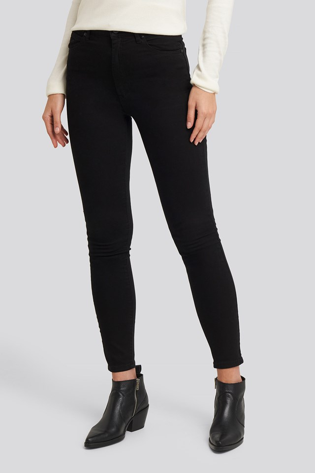 A High Skinny Ankle Basher Jeans Black Magic