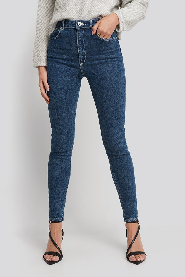 A High Skinny Ankle Basher Jeans Crusin
