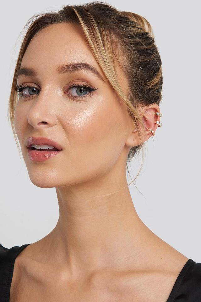 Sparkle Cuff Earrings Adorable Caro x NA-KD