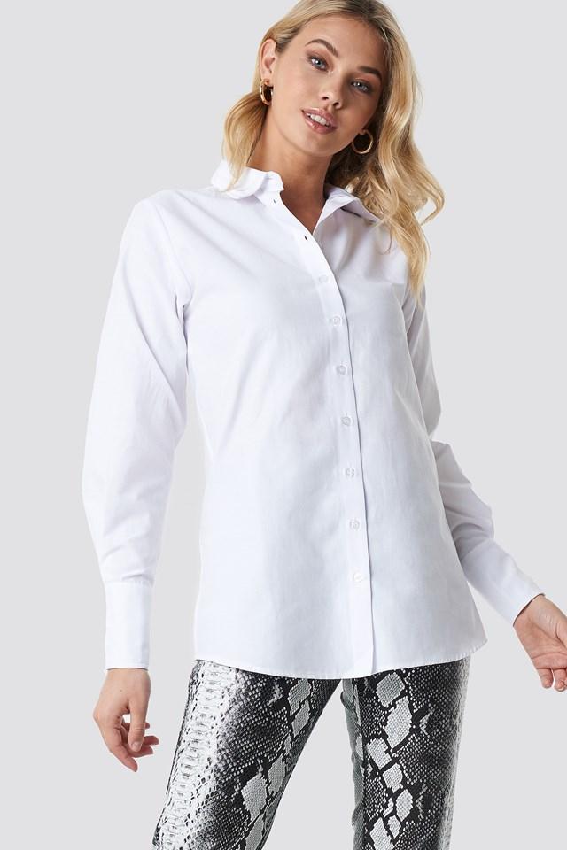 Wide Cuff Classic Shirt Anna Nooshin x NA-KD