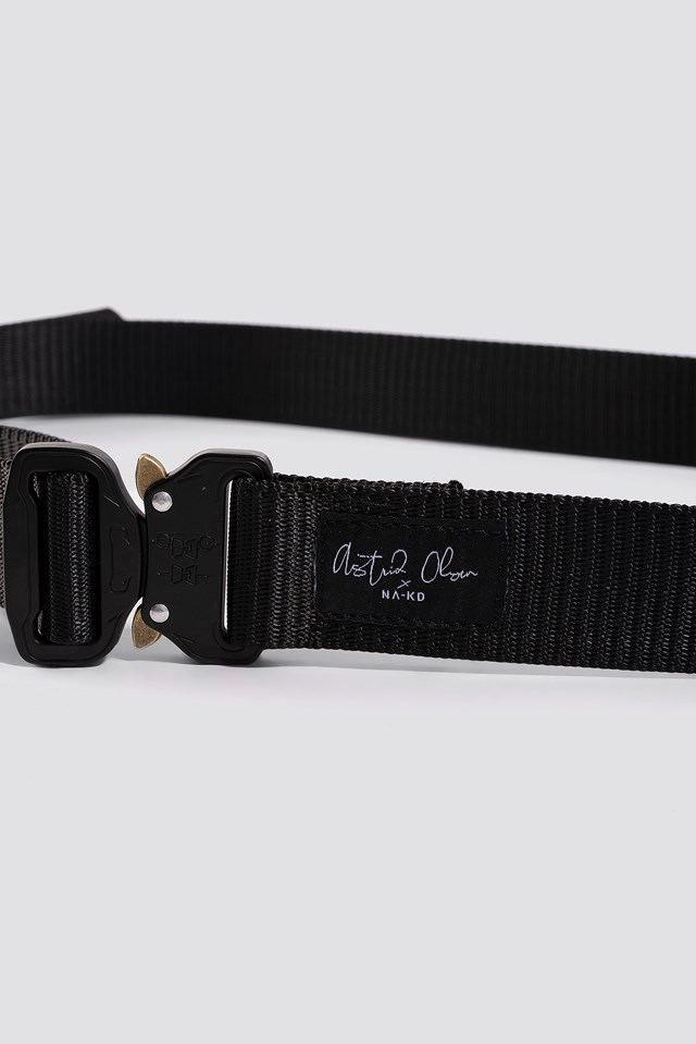 Buckle Belt Black