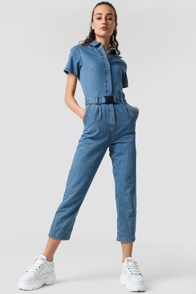 Denim Jumpsuit Blue