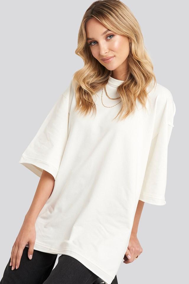 Basic Sweatshirt Cream