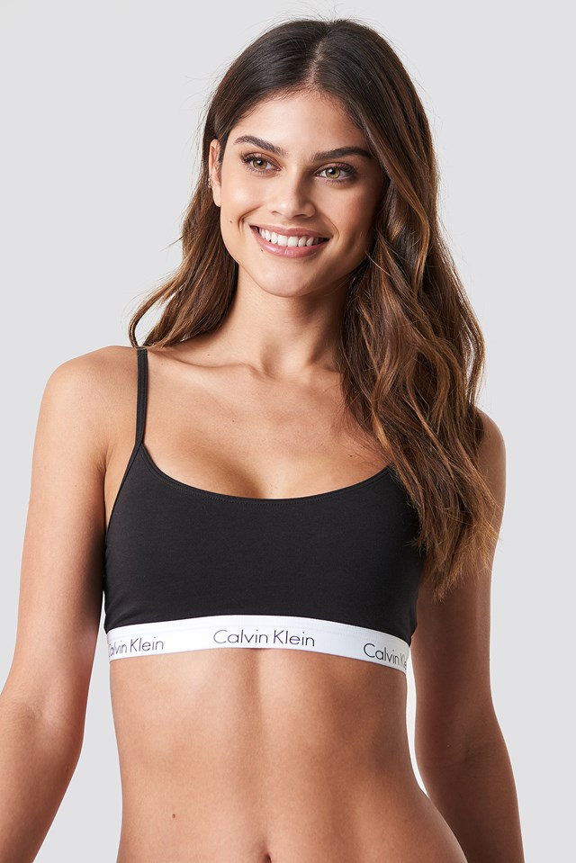 Bralette One Cotton Black