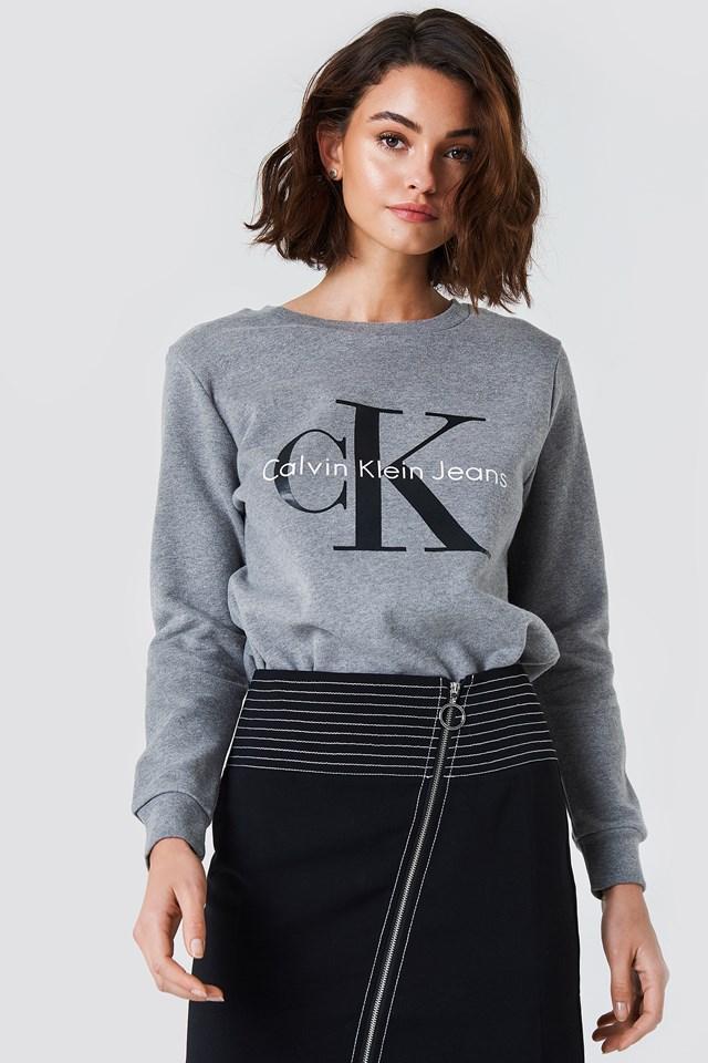 Crew Neck True Icon Sweatshirt Calvin Klein