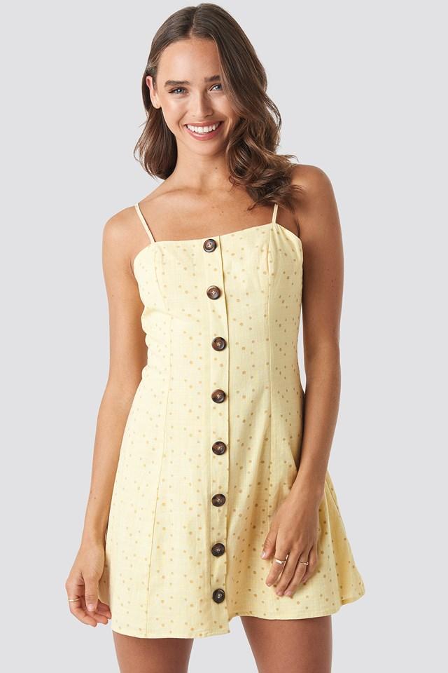 Button Down Mini Dress Céline & Talisa x NA-KD