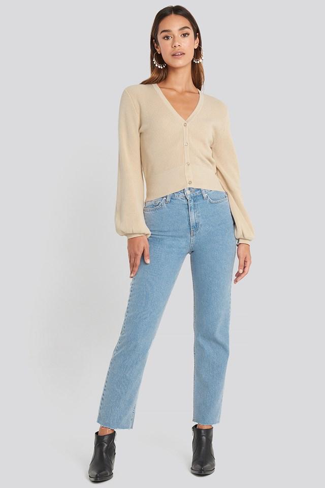 Straight Leg Jeans Chloé B x NA-KD