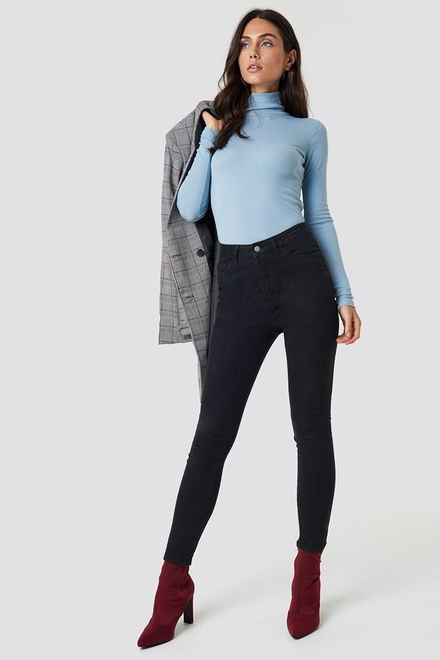 Basic Skinny Jeans Black
