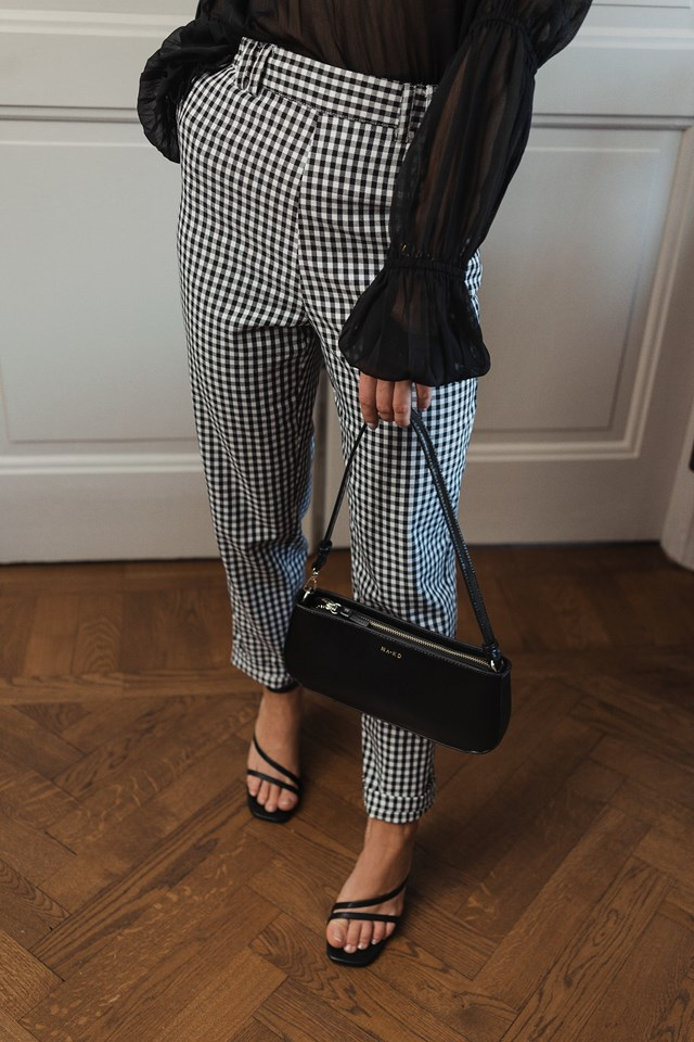 Checked Suit Pants Check Print