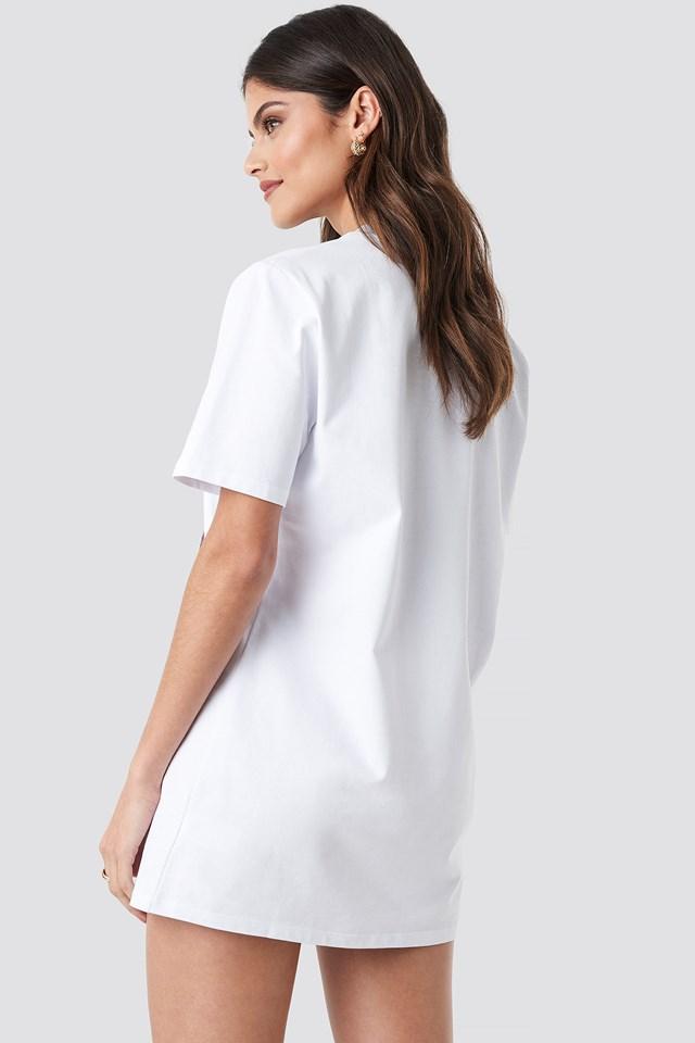 T-shirt Dress White