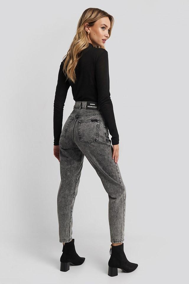 Nora Jeans Grey Retro Stone