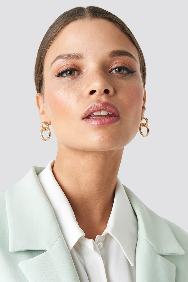 Chain Earrings Emilie Briting x NA-KD