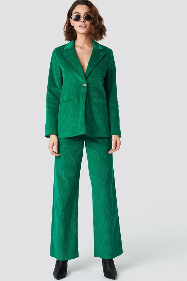 Manchester Blazer Green