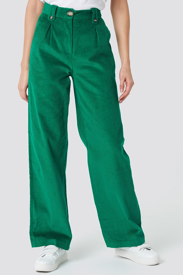 Manchester Pants Green