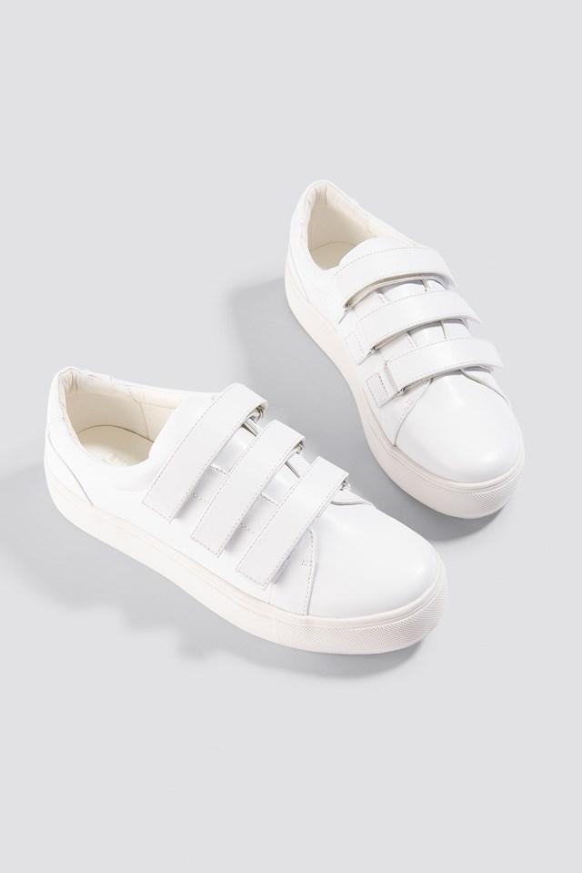 Patent Velcro Sneaker Emilie Briting x NA-KD