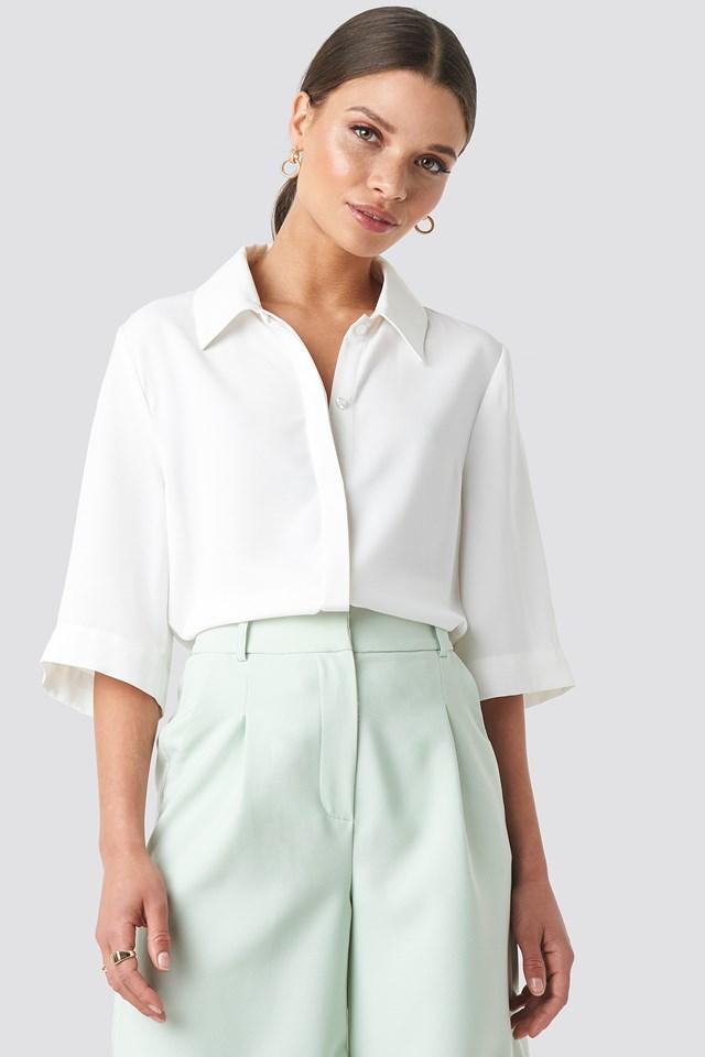 Short Sleeve Shirt White