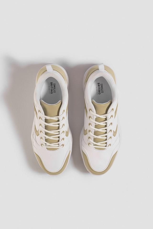 Street Chunky Sneaker Beige/White