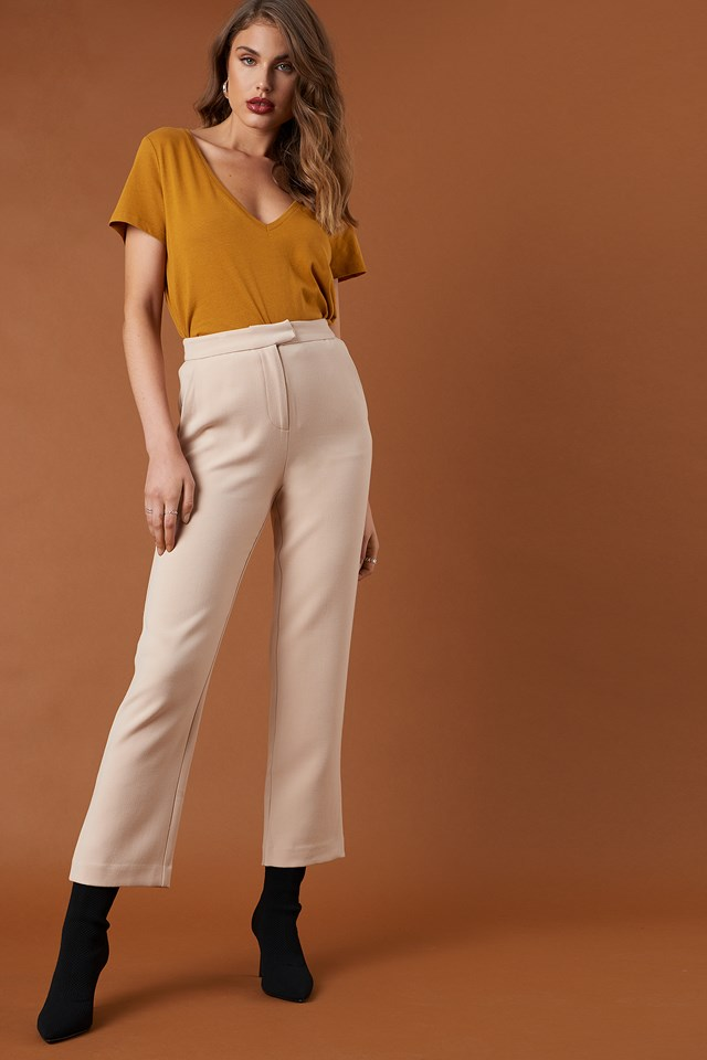 Relaxed Suit Pants NA-KD Classic