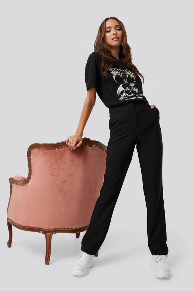 Straight Suiting Pants Erica Kvam x NA-KD
