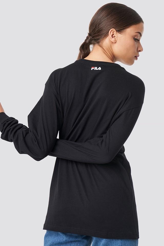 Classic Pure Long Sleeve Shirt Black