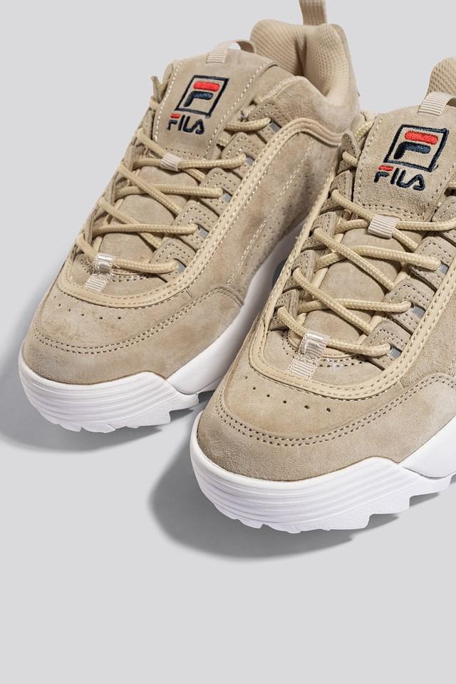 Disruptor S Low Wmn Sneaker Whitecap Grey