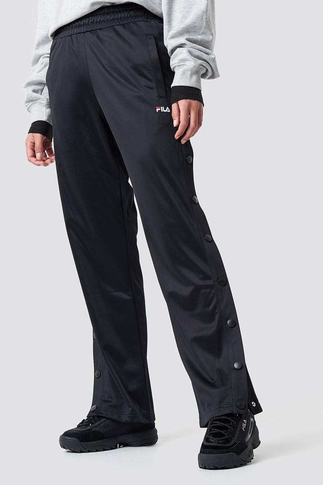 Geralyn Button Pants Black