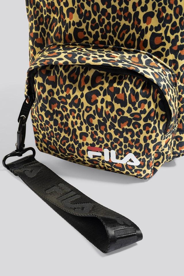 Mini Strap Backpack Varberg Leo Aop
