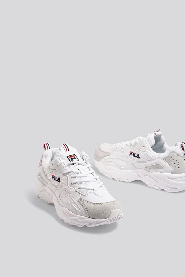 Ray Tracer Wmn Sneaker White/White
