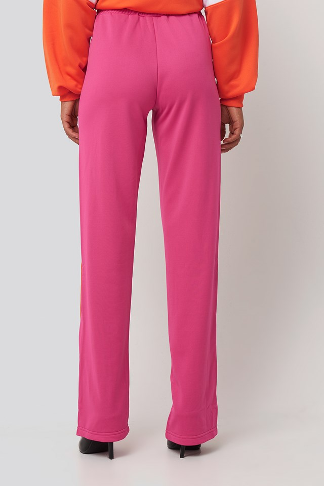 Sachika Track Pants Pink Yarrow/Mandarin Orange