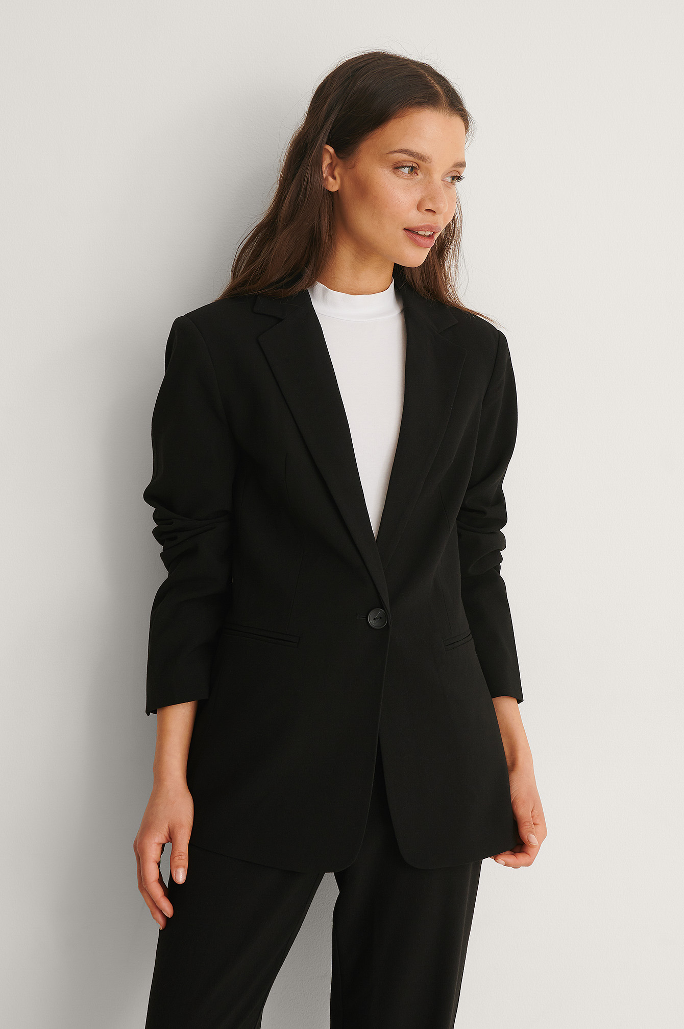 Black Fitted Blazer