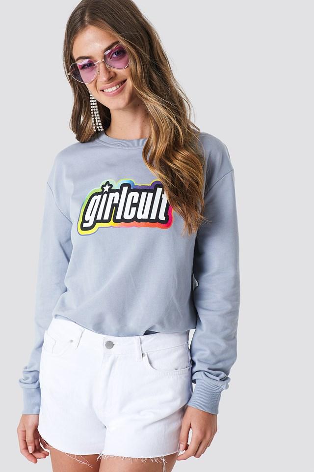 Girl Cult Sweatshirt Foggy