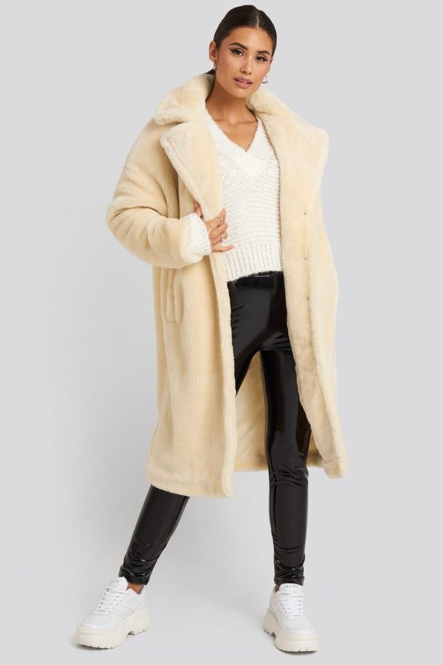 Faux Fur Coat Gerda x NA-KD