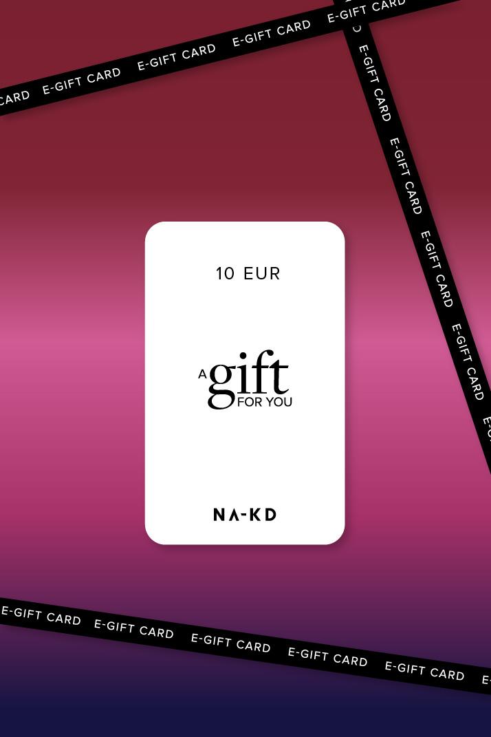 One gift. Endless fashion choices. 10 EUR