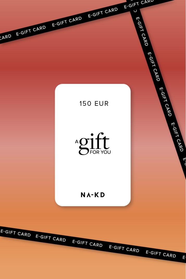 One gift. Endless fashion choices. 150 EUR