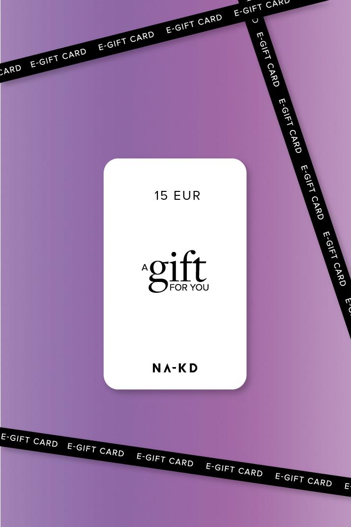 One gift. Endless fashion choices. 15 EUR