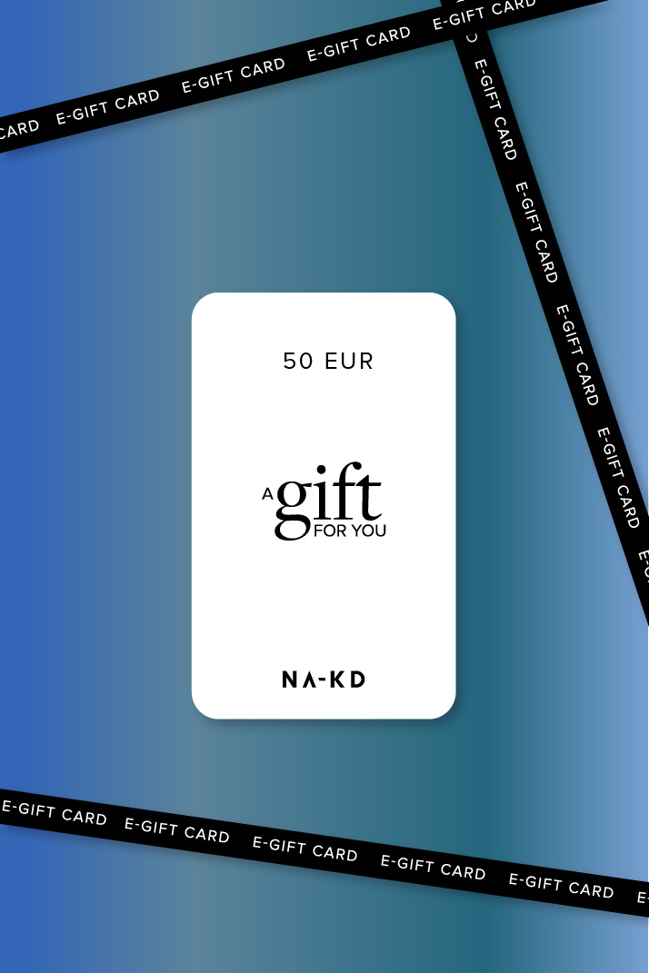 One gift. Endless fashion choices. 50 EUR