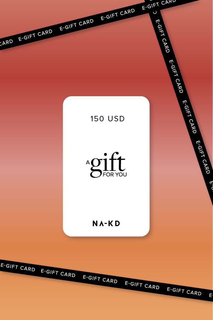 One gift. Endless fashion choices. 150 USD