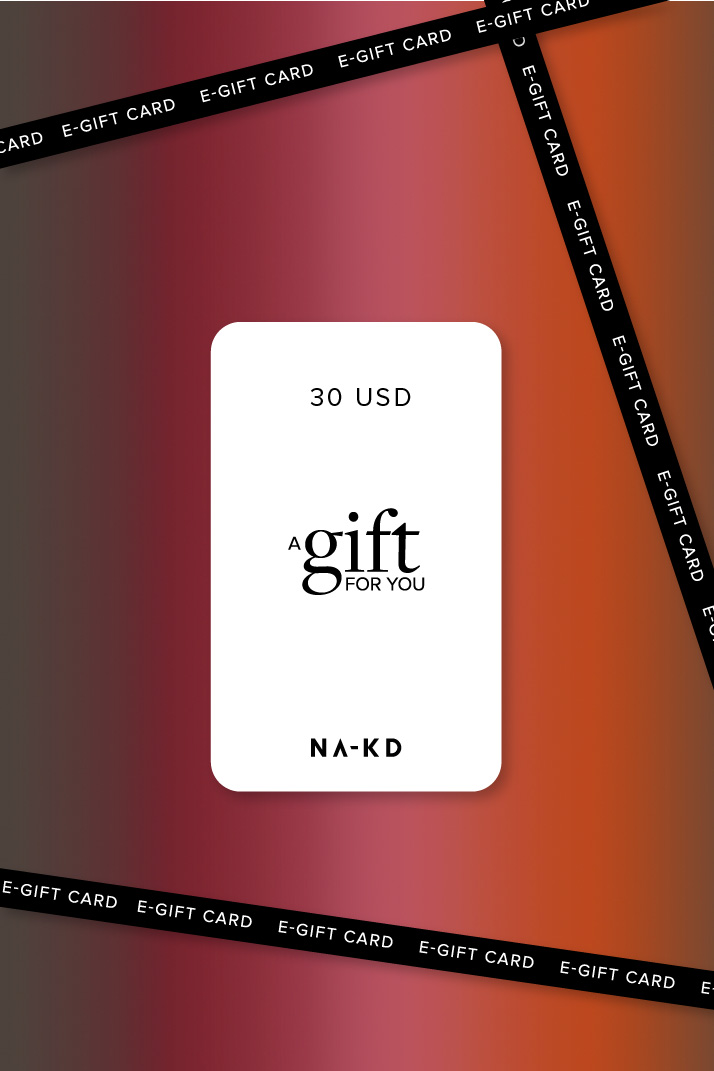 One gift. Endless fashion choices. 30 USD