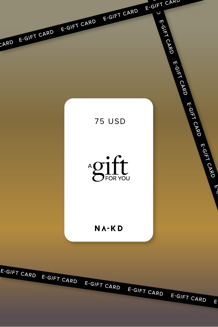 One gift. Endless fashion choices. 75 USD