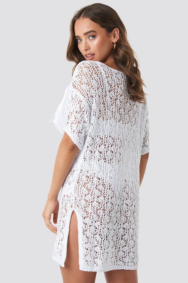 Crochet Beachwear White