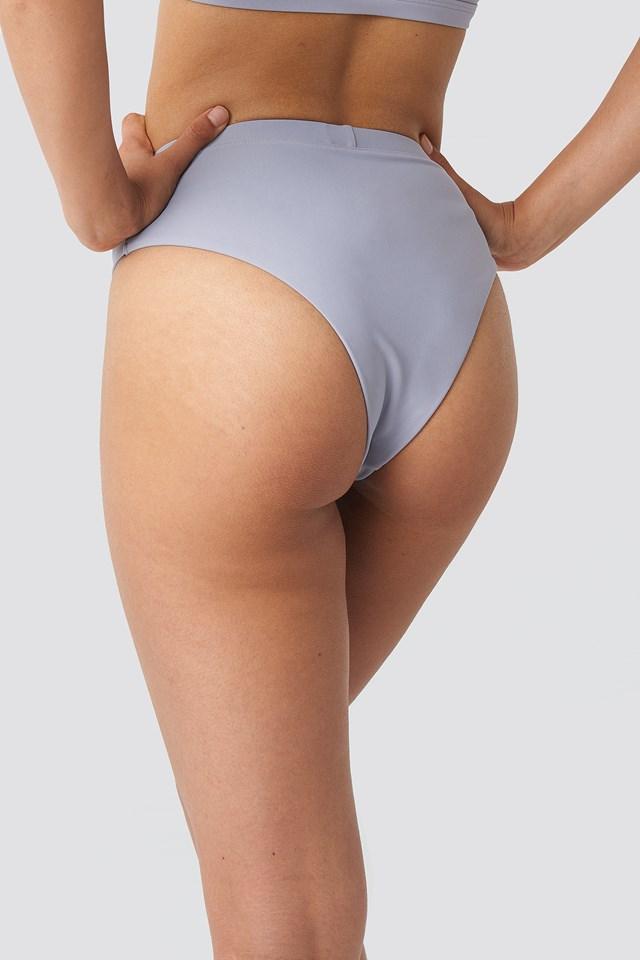 Mid Waist Bikini Pantie Dusty Lilac