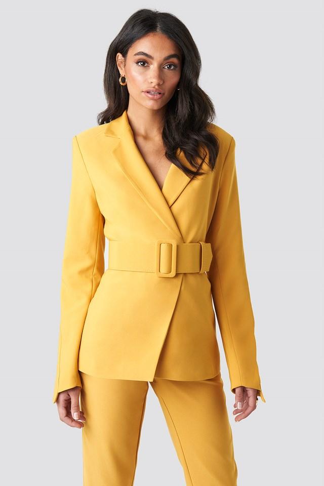 Wide Belted Suit Jacket Hoss x NA-KD