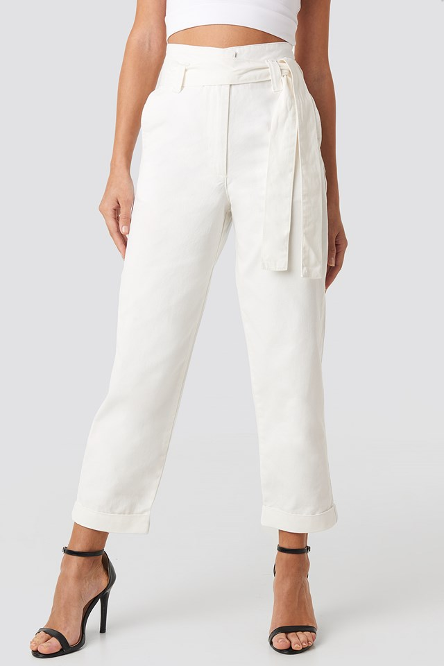 Baggy Pants Off White