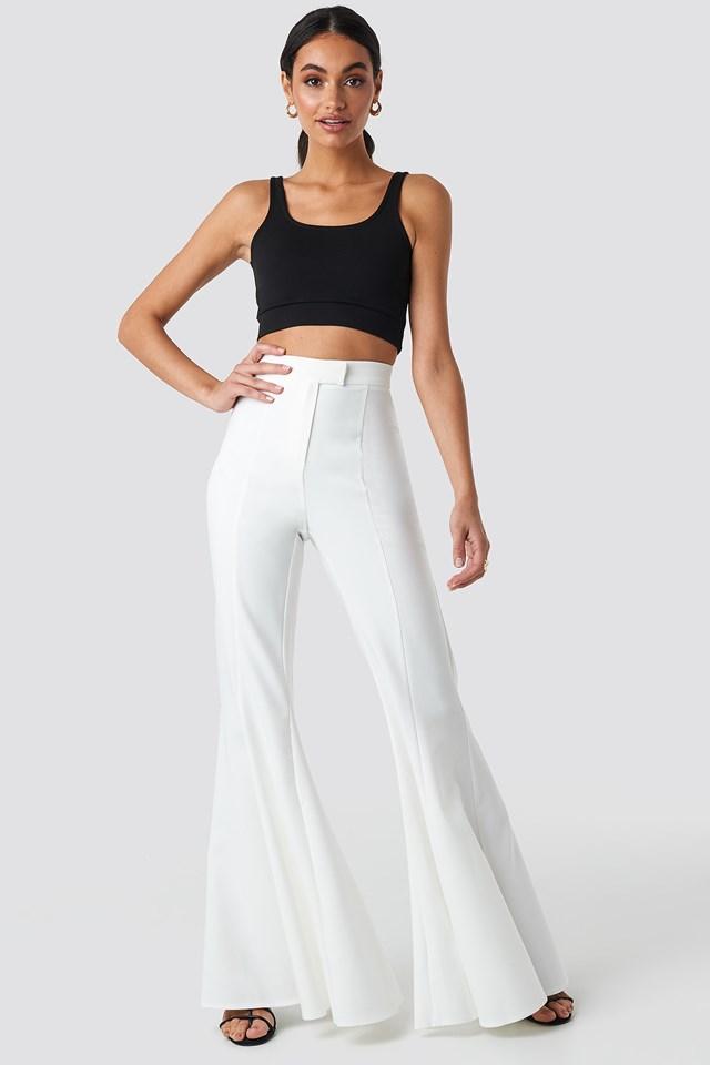 Flowy Pants White