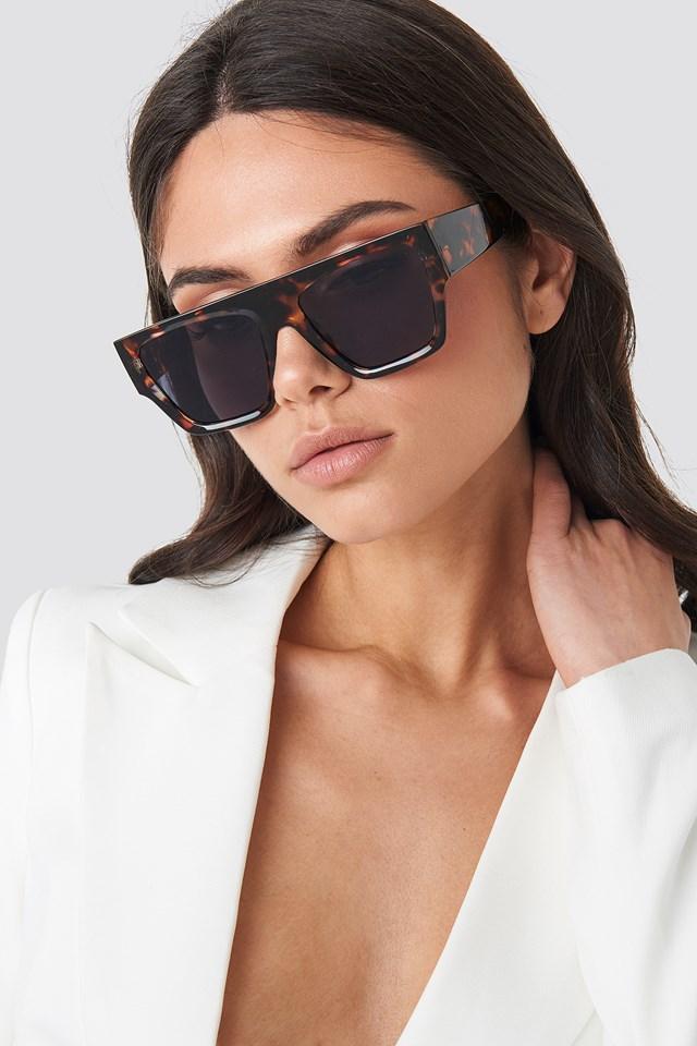 Square Tortoise Sunglasses Tortoise