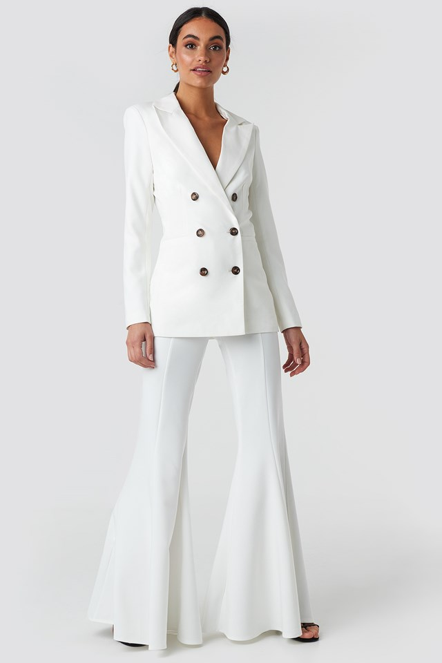 Tailored Blazer Off White