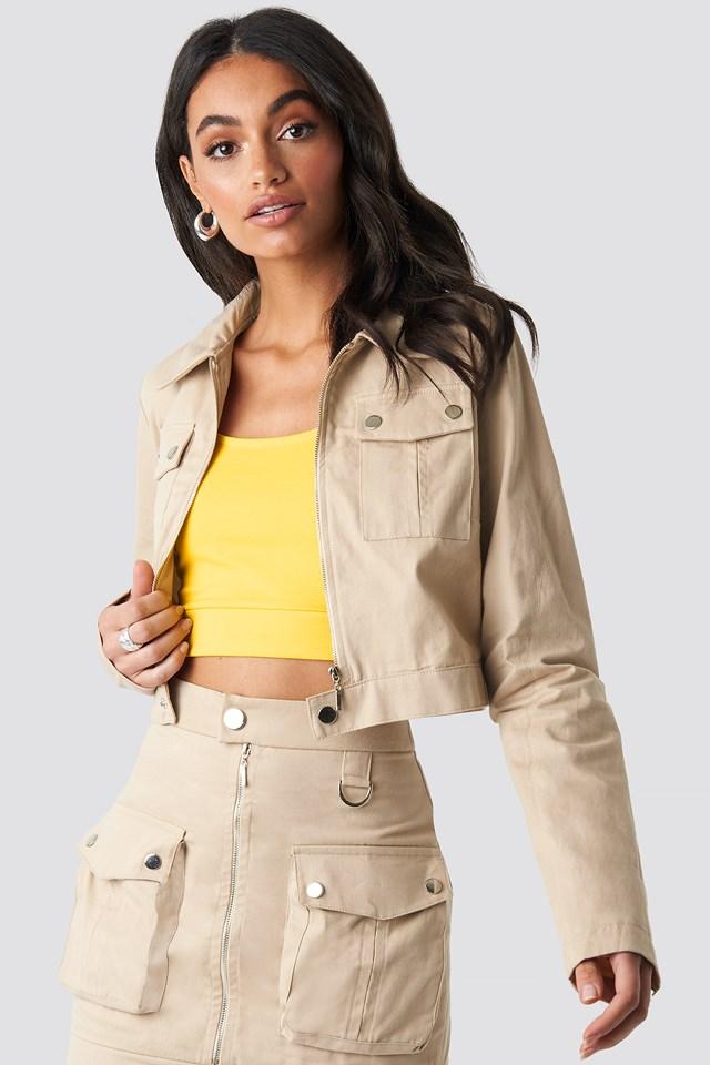 Zipped Short Jacket Hoss x NA-KD
